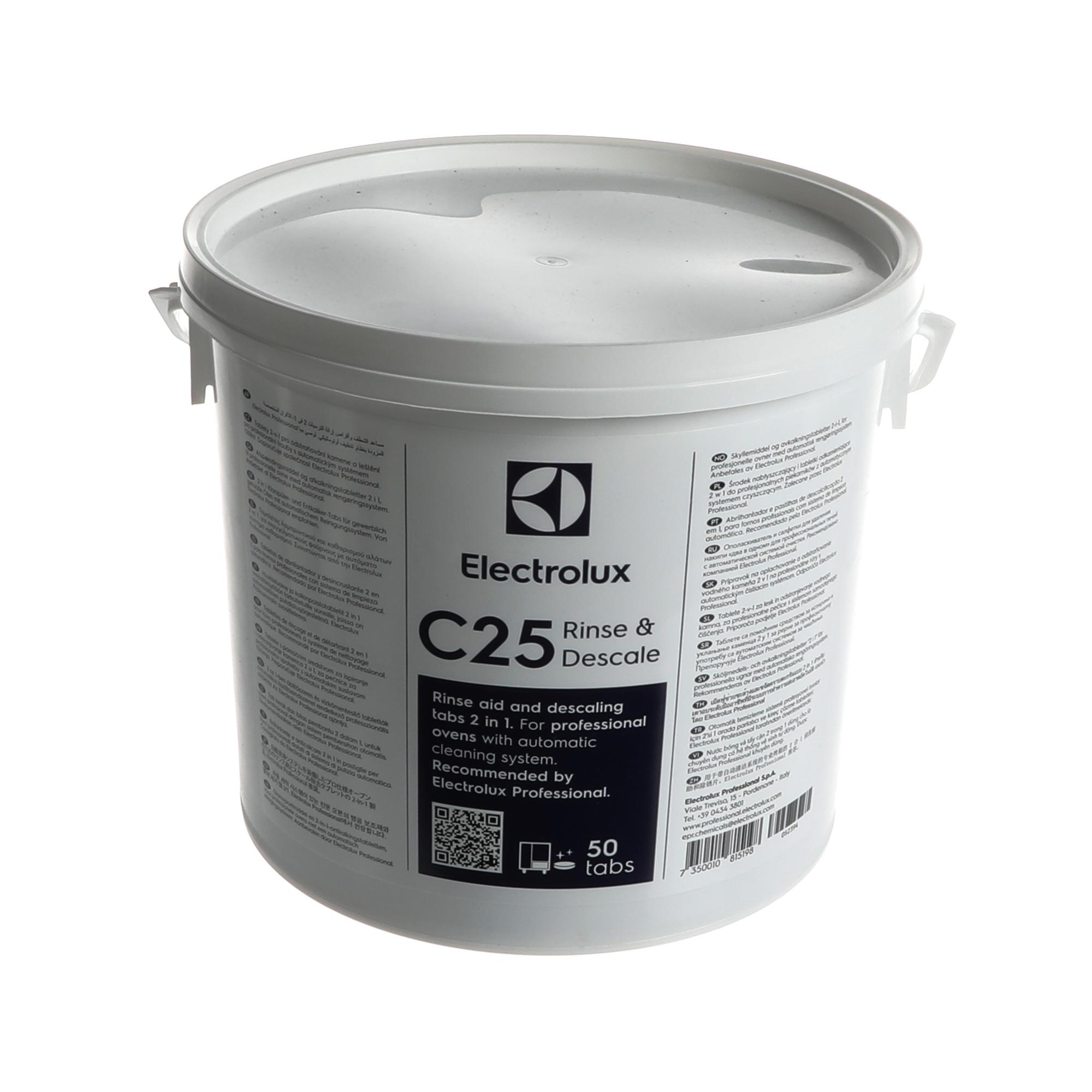C25 Rinse & Descale tab